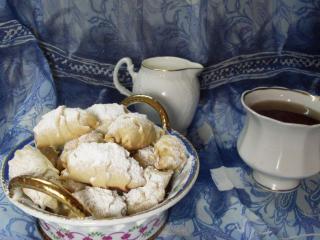 обои Швейцарские булочки к чаю фото