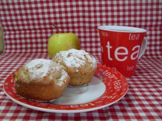обои Сладкие кексы к чаю фото