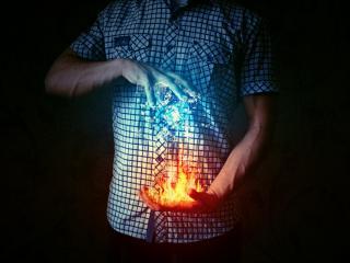 обои Повелитель огненной силы фото