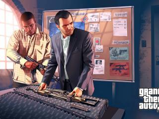 обои Majkl Franklin укладывает оружие фото