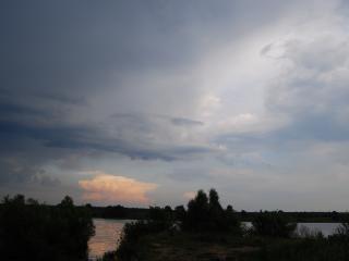 обои Хмурится небо фото