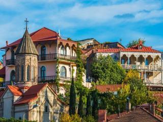 обои Солнечный Тбилиси фото