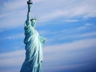 обои для рабочего стола: Статуя свободы. США