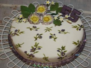 обои Юбилейный тортик 55 фото