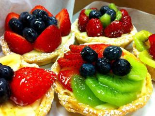 обои Ягодно-фруктовые карамельки фото