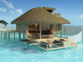 обои для рабочего стола: Домик для отдыха на море