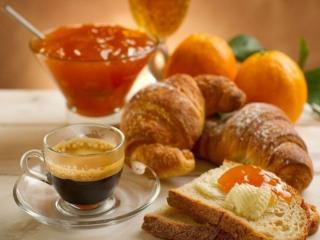 обои Завтрак с вареньем фото