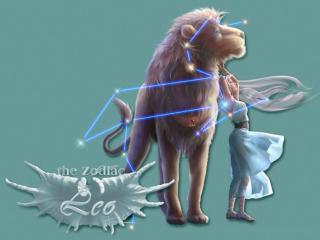 обои Знак зодиака - Лев фото