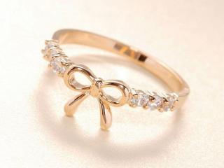 обои Золотое кольцо Бантик фото
