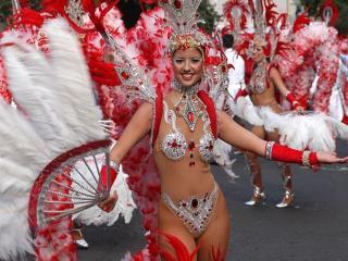 обои Карнавал на Тенерифе фото
