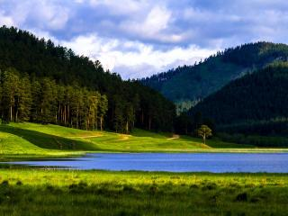 обои Лето в горах фото