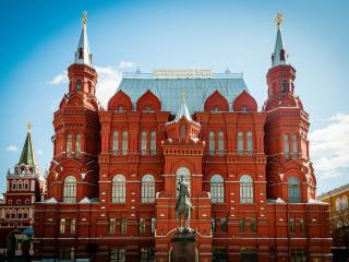обои Исторический музей. Москва фото