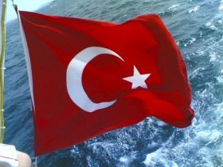 обои Турецкий флаг фото