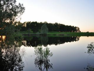 обои Вечер на озере фото
