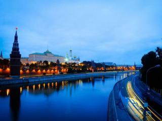 обои Кремлевская набережная. Утро фото