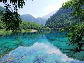 обои Долина Цзючжайгоу. Китай фото