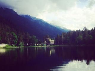 обои Карачаево-Черкесская республика,   озеро Каракель фото