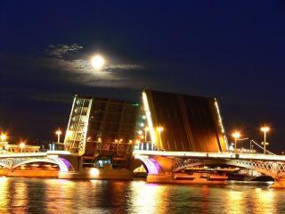 обои Мосты повисли над водами фото