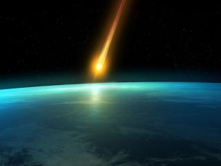 обои На Землю упал Тунгусский метеорит фото