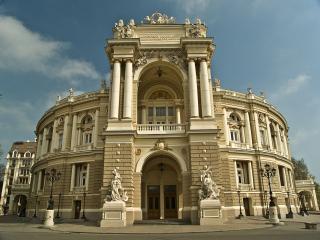 обои для рабочего стола: Оперный театр в Одессе