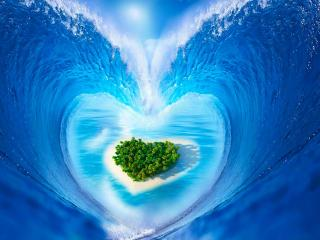 обои Остров любви фото
