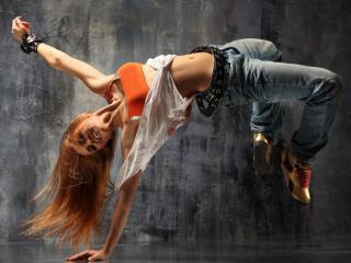 обои для рабочего стола: Фитнес-клуб - танцевальное направление