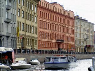 обои Вид на Мойку. Санкт-Петербург фото