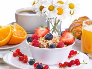 обои Ягодно-фруктовый завтрак фото
