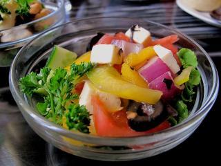 обои Греческий салатик фото