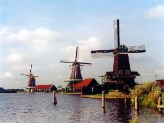 обои Мельницы Амстердама фото
