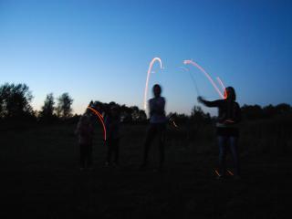 обои Дети играют в волшебников фото