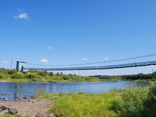 обои Вид на мост со стороны фото