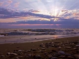 обои Августовское морское утро фото