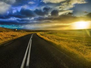 обои Дорога к солнцу фото