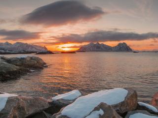 обои Арктическое утро фото