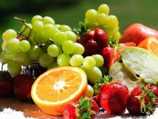обои Ягодно-фруктовый светофор фото