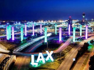обои Международный аэропорт Лос-Анджелеса. США фото