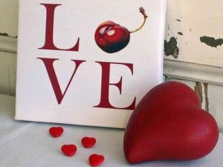 обои для рабочего стола: Любовное сердце