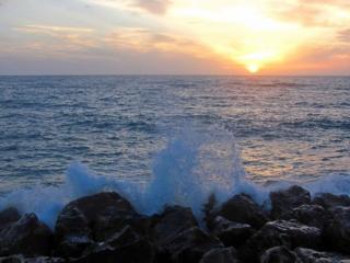 обои Утреннее море фото
