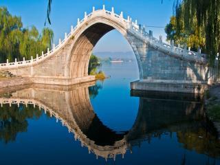 обои Лунный мост в Пекине фото