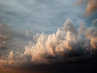 обои Предрассветные облака фото