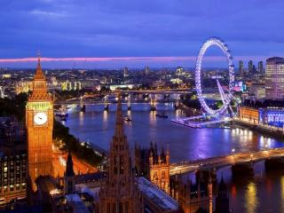 обои Вечер в Лондоне фото