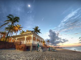 обои для рабочего стола: Пляж на Багамских островах