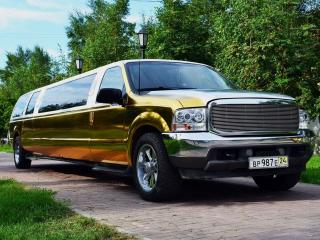обои Форд - Ford Excursion Gold фото