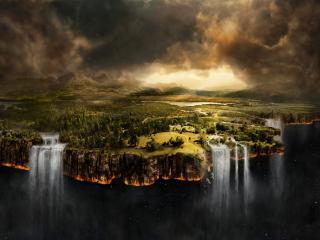 обои Край земли фото