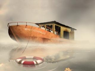 обои Лодка Непотопляемый фото