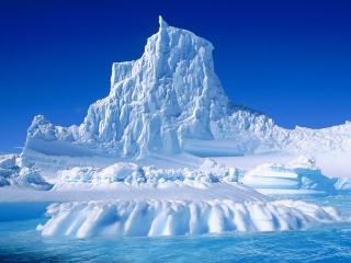 обои Большая гора изо льда фото