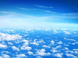 обои Облака с высоты фото