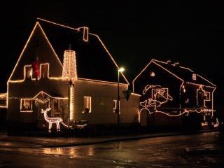 обои Рождественский дом фото