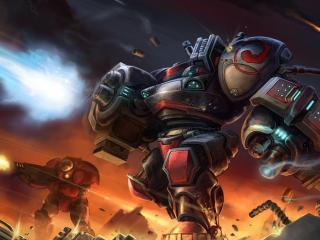 обои Война. Боевые роботы фото